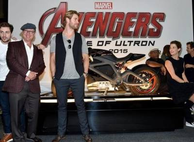 News video: The First 'Avengers: Age Of Ultron' Trailer Is Finally ... Scheduled