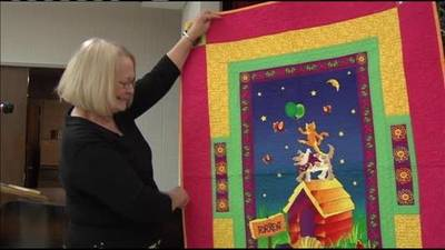 News video: Brads Quilts for Charity