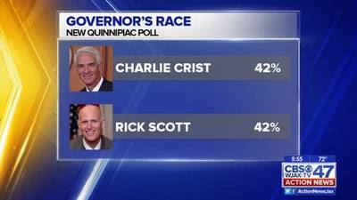 News video: Poll shows Florida Governor's race a dead heat