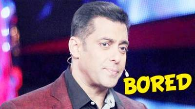 News video: Is Salman Khan Bored Of Bigg Boss 8? | FIND OUT